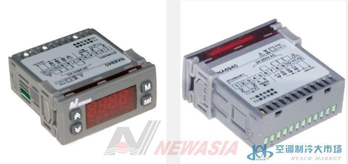 NA6940N新亚洲温控器制冷化霜风机单控冷库冷柜用RS485