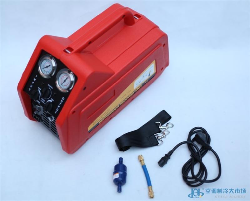 双缸无油压缩机 QX-24A qishanr冷媒回收机 抽氟机