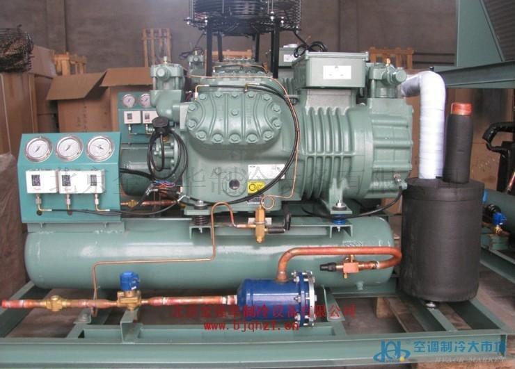 原装德国比泽尔4J-22.2制冷机组/工业冷水机组/冷库外