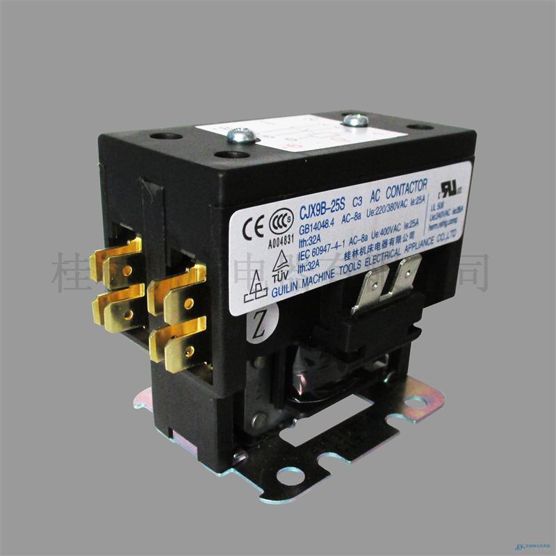 CJX9B-25S双极交流接触器