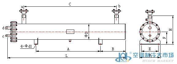 蒸发器  干式蒸发器