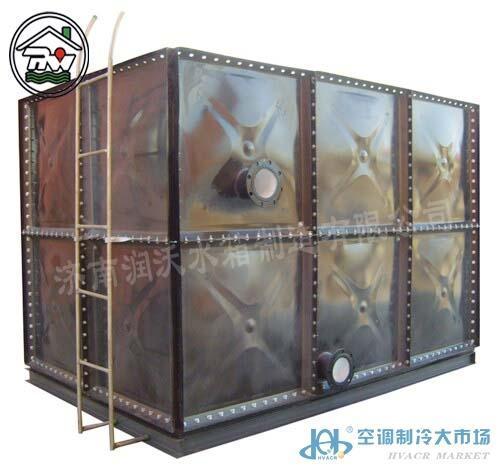 乌海搪瓷钢板水箱、