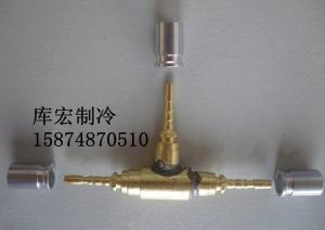 制冷配件 软管 机组软管 铜配件三叉 三通