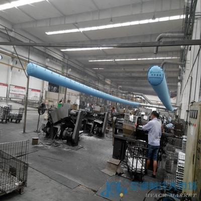 浙江产节能通风管道纤维织物布风管
