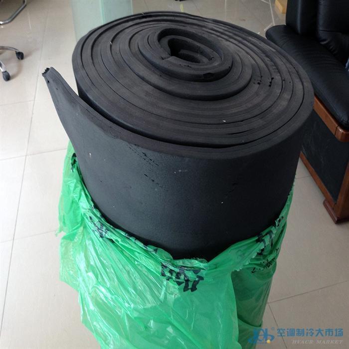 现货空调保温橡塑板 NBR橡塑发泡保温材料
