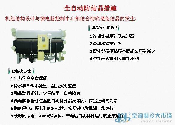 LG H系列高效溴化锂吸收式冷温水机组