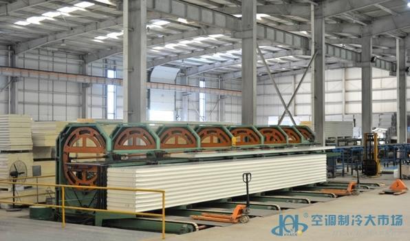 华都茂华聚氨酯冷库板、聚氨酯冷库板价格、北京聚氨酯