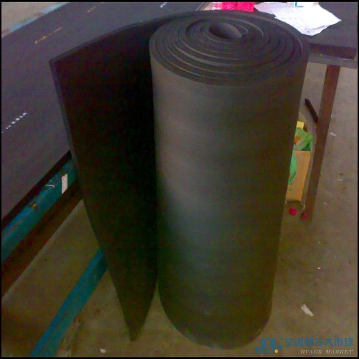 管道工程保温材料B1级保温橡塑发泡板