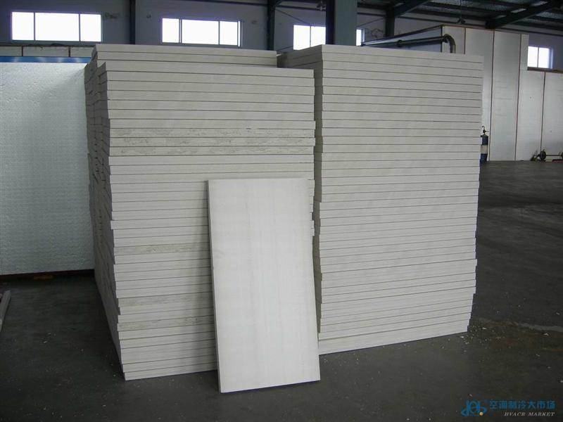 华都茂华聚氨酯保温板、聚氨酯冷库板、保温材料、聚氨