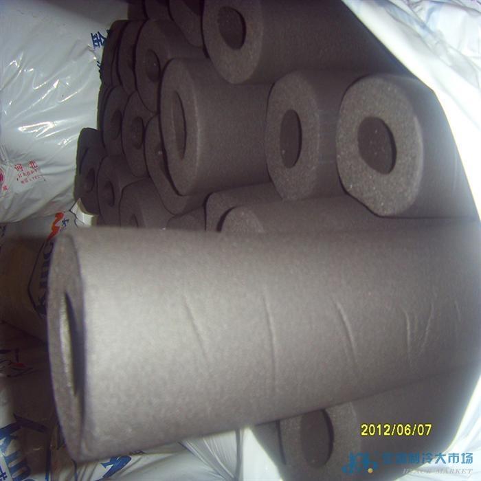 现货供暖管道保温材料 橡塑保温管 发泡橡塑