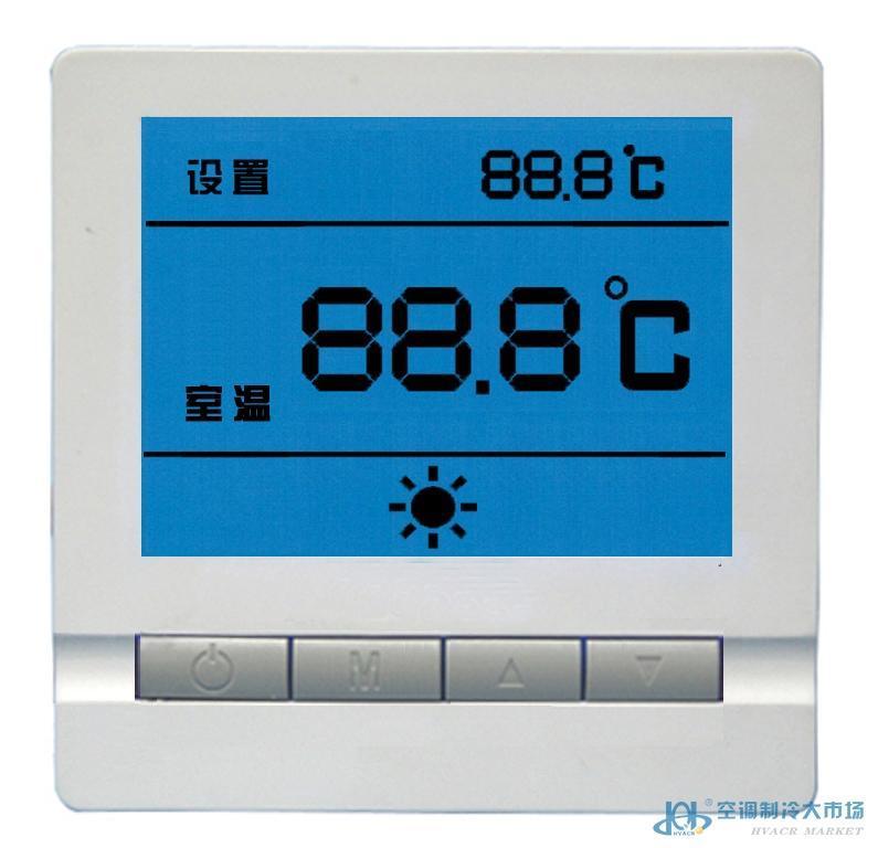 碳晶墙暖温控器