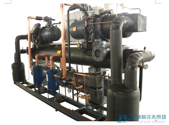 汉钟螺杆双系统水冷中温压冷水机组LSWS系列