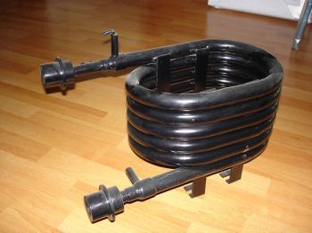 卧式壳管冷凝器蒸发器(螺杆机专用)各种规格齐全