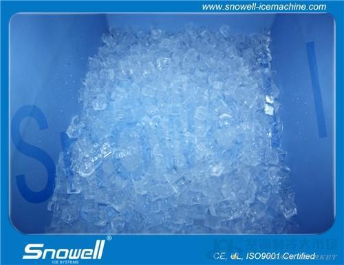 304全不锈钢颗粒制机 食用方冰机 直接食用 干净卫生