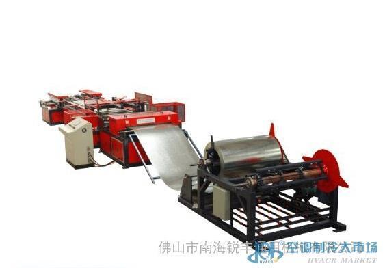 金属成型设备 金属成型设备机械 佛山锐丰全自动风管生