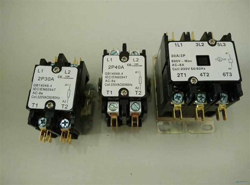 cjx9-20/3 20A 3P中央空调用交流接触器 纯铜线圈