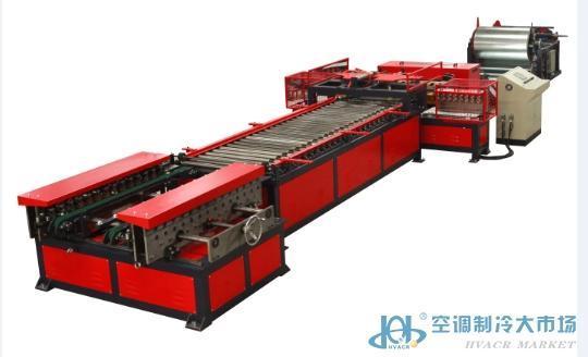 全自动风管生产线 南海锐丰集装箱风管生产线 风管生产