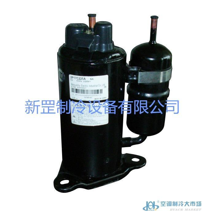 松下380V空调压缩机/万宝2V44W385AUA转子压缩机