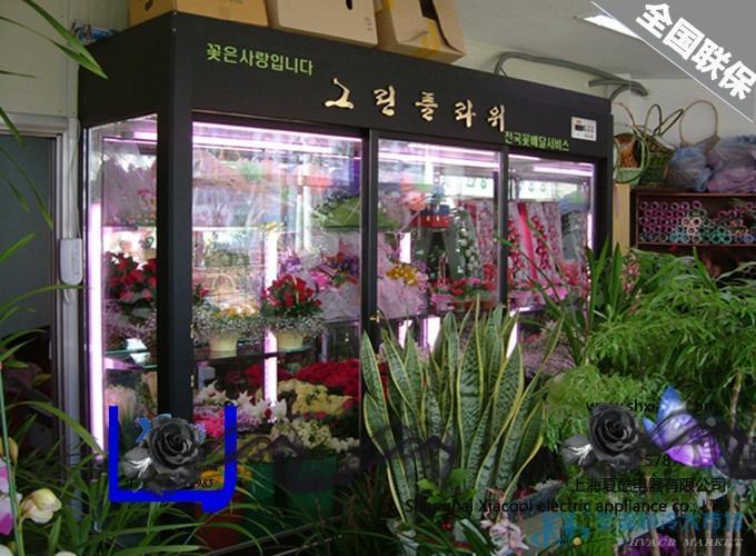 风幕柜、冷藏柜、保鲜柜、超市冷柜、鲜花柜