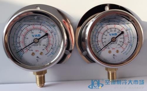 船用空调压力表(可夜光显示)