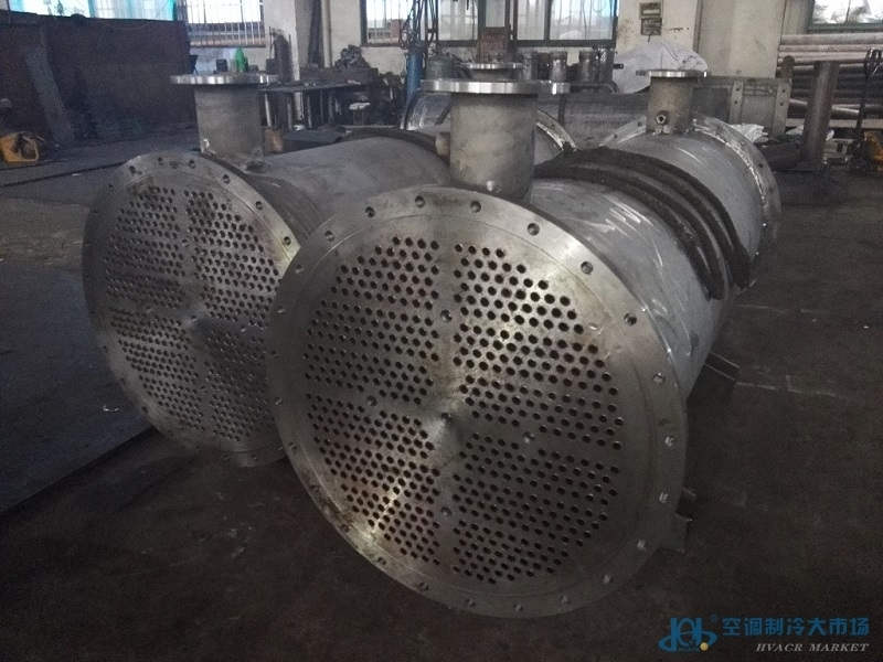 冷凝器│海水冷凝器│江苏冷凝器厂家│不锈钢冷凝器