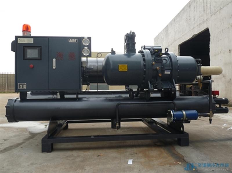100匹空调主机水冷螺杆式冷水机组