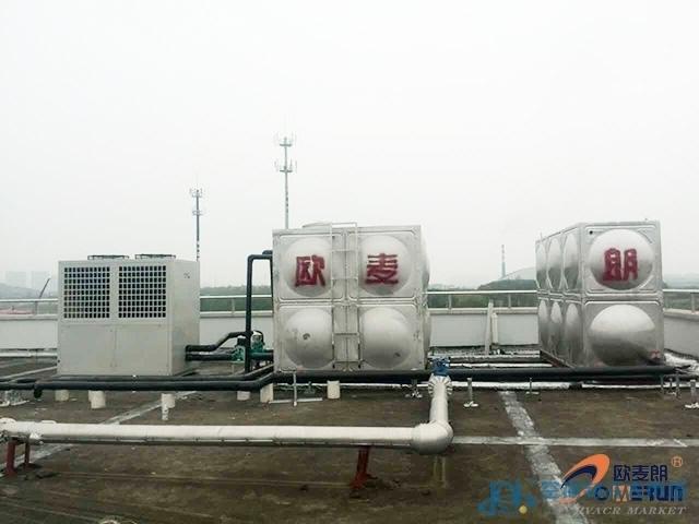 昆山常熟空气源热泵 大型空气能热水器