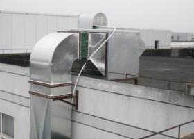 青岛通风排烟管道制作安装