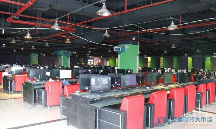上海网吧通风新风系统安装