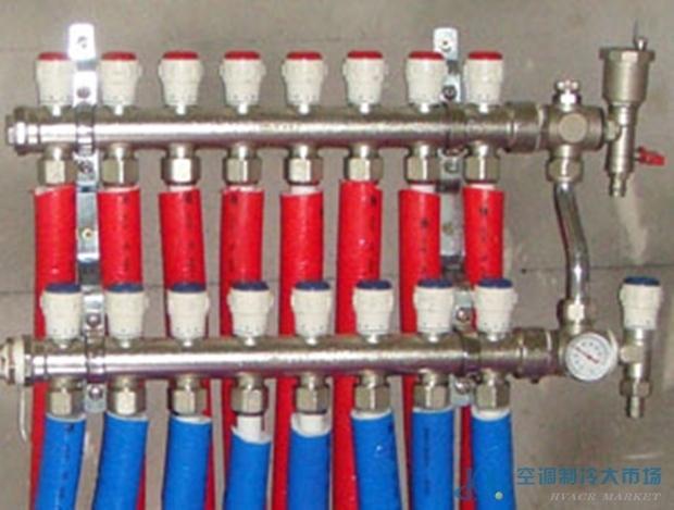 整体锻造分集水器