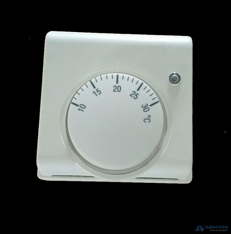 壁挂炉旋钮式温控器温度控制器水地暖采暖温控开关面板