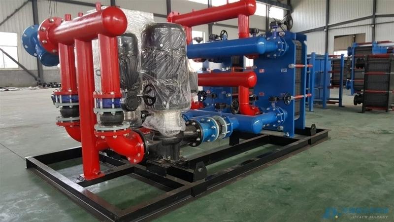 换热器 换热机组 水-水板式换热站供暖设备 环保节能 