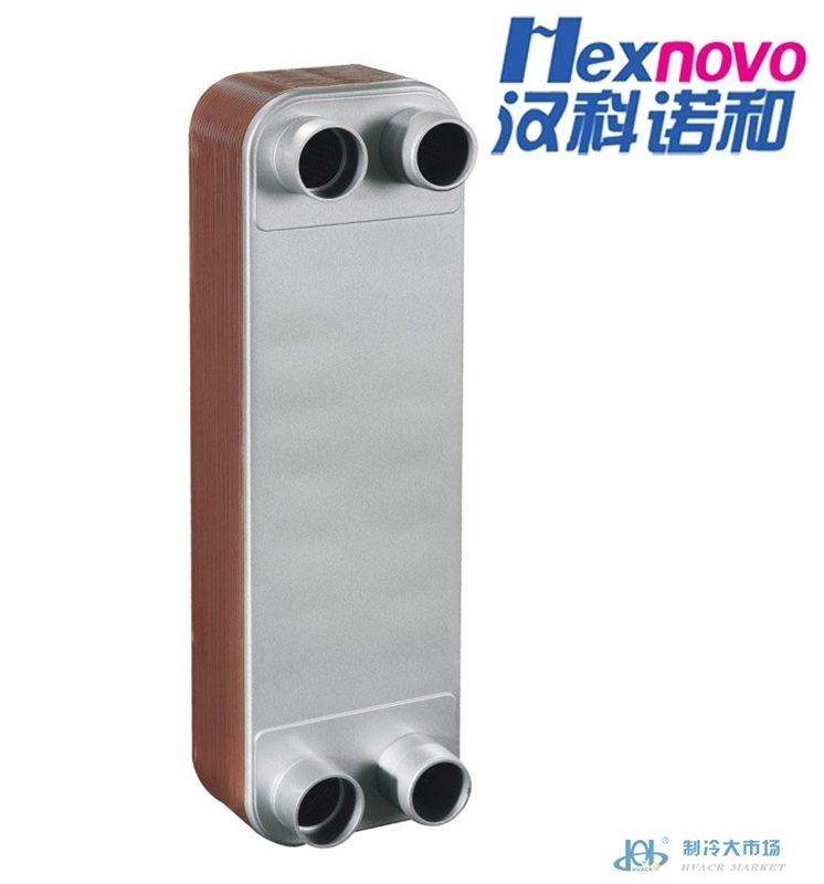 HC单系统(2) 铜钎焊板式换热器 热交换器 冷凝器 蒸发