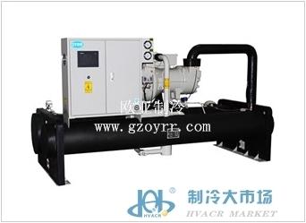 螺杆式水(地)源热泵机组;