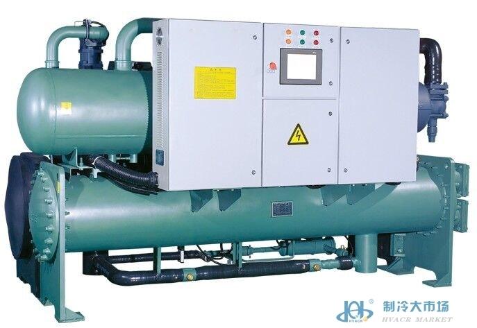 满液式螺杆水源热泵机组(双机)