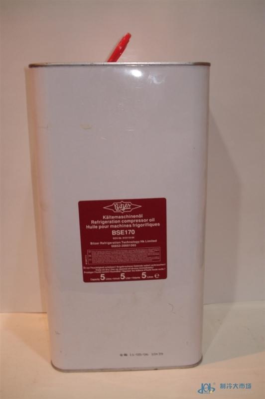 Bitzer比泽尔冷冻油BSE170 空调制冷螺杆压缩机专用冷