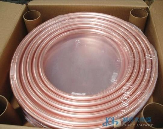 蚊香盘铜管 Φ6×0.6×15m冰箱冰柜太阳热水器能冷库材