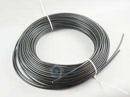 艾达热塑软管 2mm/黑色