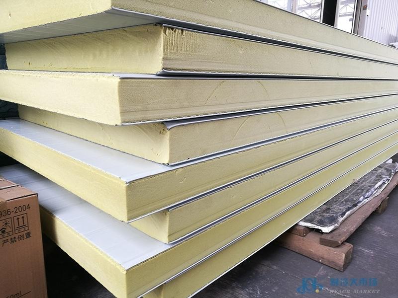 挤塑彩钢冷库板