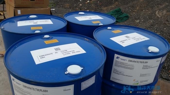 美国原装冰熊冷冻油RL68H+200L/桶