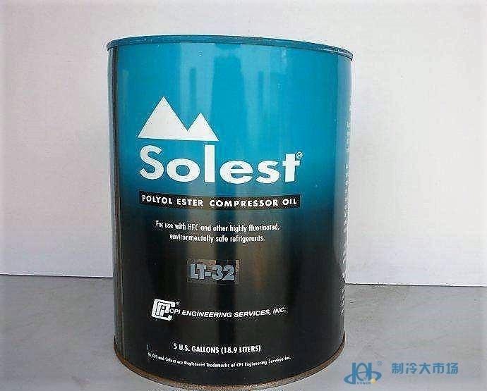 原装美国CPI冷冻油Solest LT-32+5加仑/桶