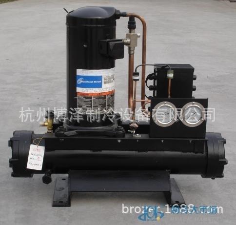 ZB58敞开式谷轮压缩机组 谷轮水冷机组 8匹 冷库压缩机