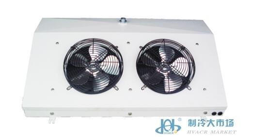 高效吸顶式单侧风冷风机