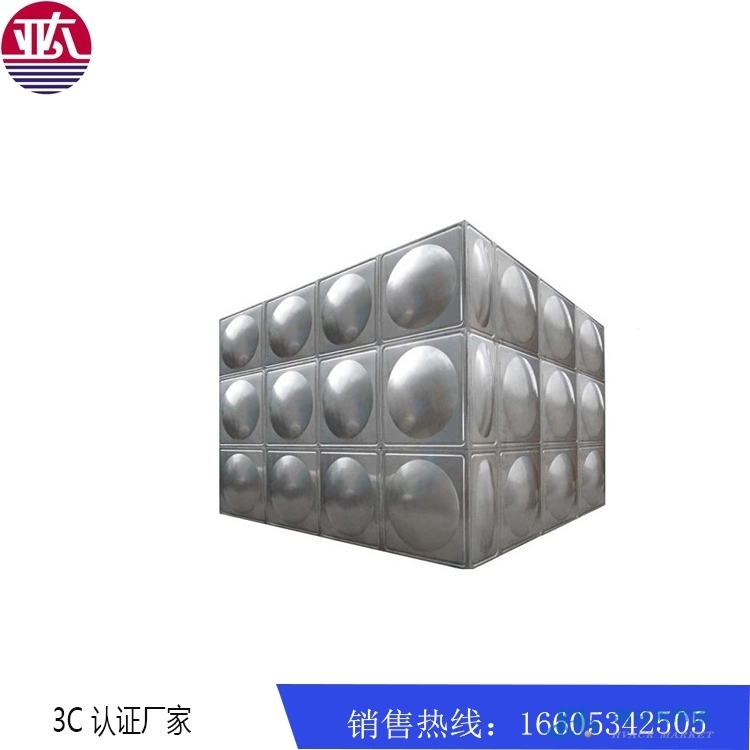 亚太方形不锈钢组合焊接 食品及水箱 成品水箱厂家定