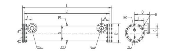 凯迪  凯得利 直管型单机系列干式蒸发器
