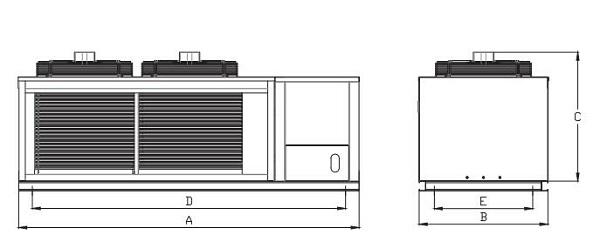 谷轮V型箱式冷凝机组