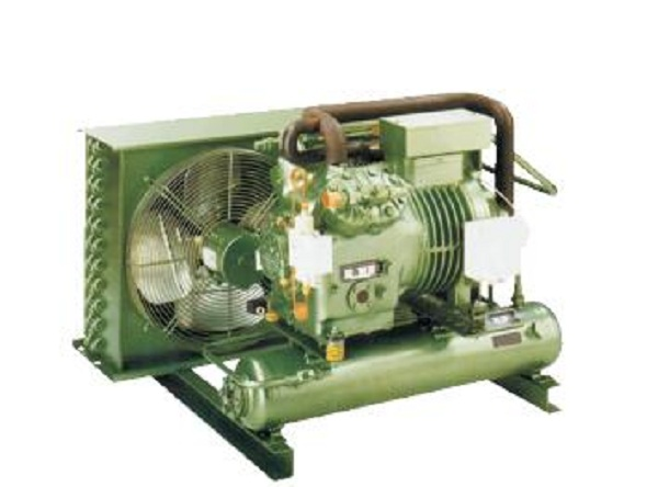 凯迪 凯得利 单机双级半封闭活塞压缩冷凝机组
