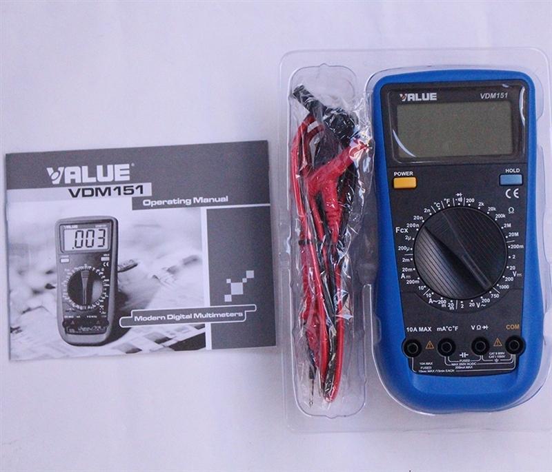 飞越制冷工具数字万用表VDM-151