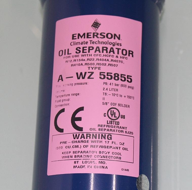 原装艾默生制冷配件油分A-WZ 55855