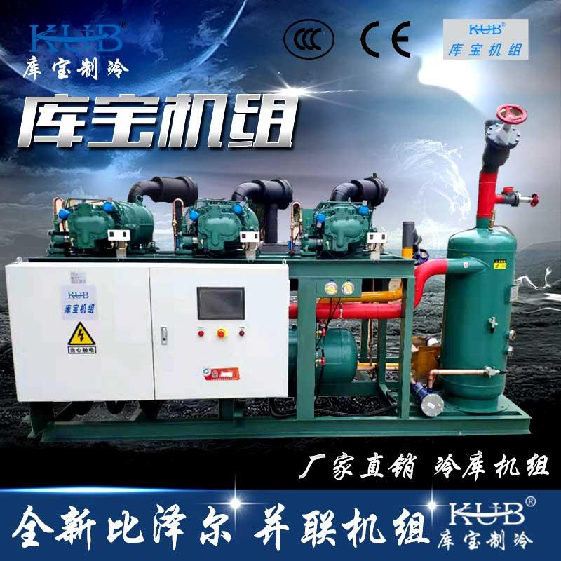 比泽尔螺杆并联压缩冷凝低温冷库制冷机组